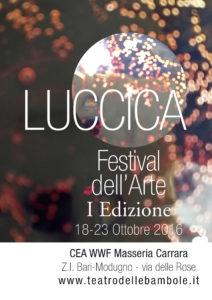 Luccica – Festival dell'Arte dal 18 al 23 ottobre