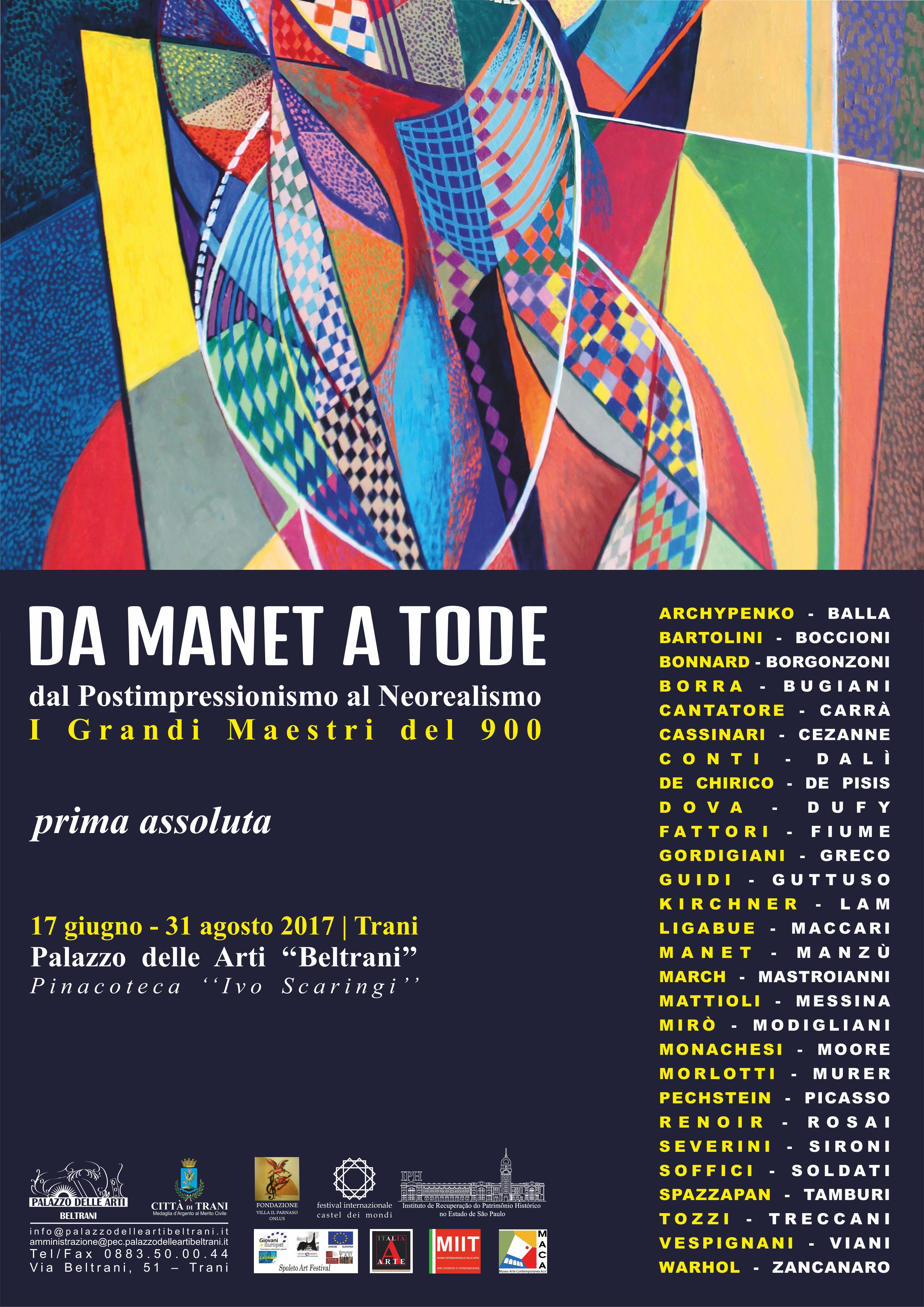 Mostra Palazzo delle Arti Beltrani - Pinacoteca Ivo Scaringi